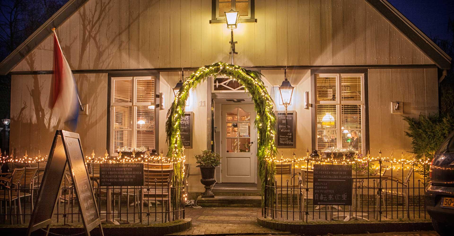 kindvriendelijk restaurant Noord Holland kerst